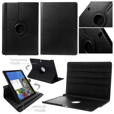 ^ Samsung Galaxy Note Pro 12.2 P900 - 360 Degree Rotary Leather Case }