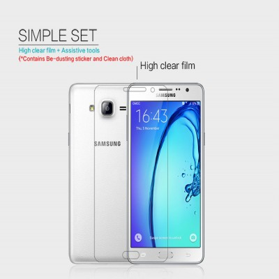 ^ Samsung Galaxy On7 - Nillkin Clear Screen Guard