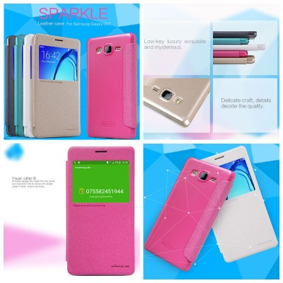 ^ Samsung Galaxy On7 - Nillkin Sparkle Leather Case
