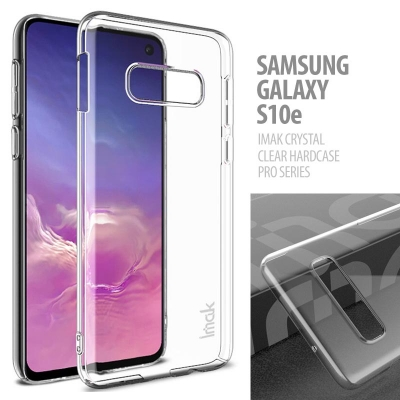 ^ Samsung Galaxy S10e - IMAK Crystal Clear Hard Case Pro Series