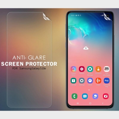 ^ Samsung Galaxy S10e - Nillkin Antiglare Screen Guard