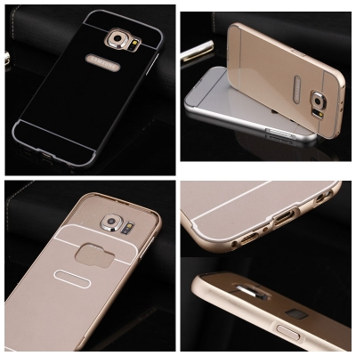 ^ Samsung Galaxy S6 G920 - Metal Slide Hard Case