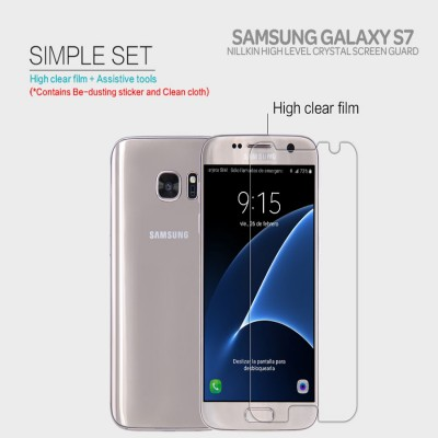 ^ Samsung Galaxy S7 Flat - Nillkin Clear Screen Guard }