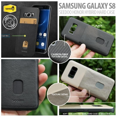 [HRX] Samsung Galaxy S8 - Original Seedoo Honor Hybrid Hard Case
