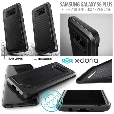 [HRX] Samsung Galaxy S8 Plus - Original X-Doria XDoria Defense Lux Armor Case