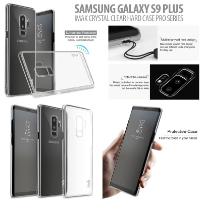 ^ Samsung Galaxy S9 Plus - Imak Crystal Clear Hard Case Pro Series }
