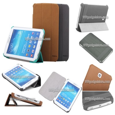 ^ Samsung Galaxy Tab 3 7.0 P3200 - Rock Leather Case