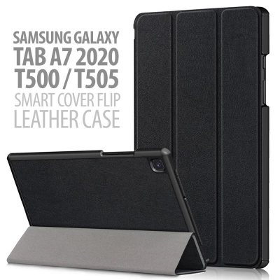 Samsung Galaxy Tab A7 2020 10.4 Inch T505 - Smart Cover Flip Leather Case