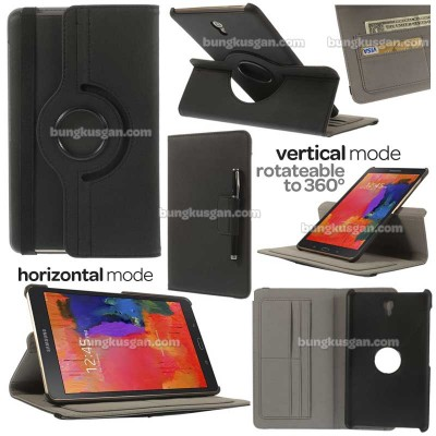 ^ Samsung Galaxy Tab S 8.4 T700 - 360 Degree Rotary Leather Case }