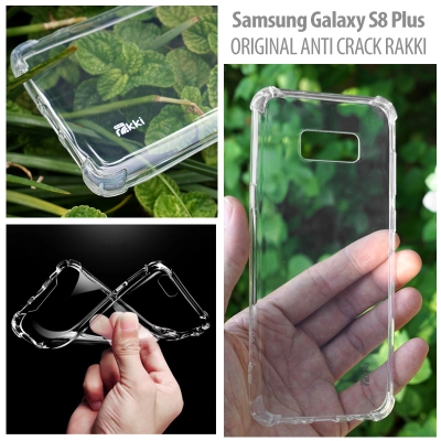 [AMI] Samsung Galaxy S8 Plus - Original Anti Crack TPU Soft Case by Rakki