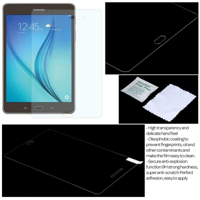 ^ Samsung Galaxy Tab A 8.0 T350 - Lumina 0.3 mm Arc Tempered Glass }