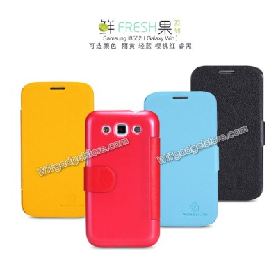 $ Samsung Galaxy Win / Win Duos i8552 - Nillkin Fresh Series Leather Case