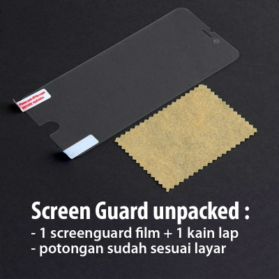 Oppo R5 - Clear Screen Guard Unpacked