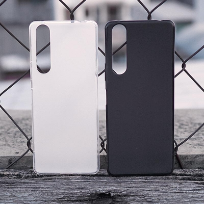 Sony Xperia 1 II - Frosted Matte TPU Soft Case