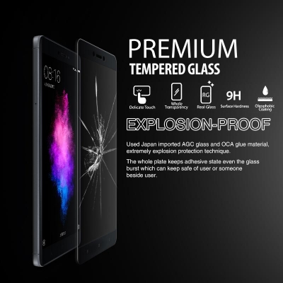^ Sony Xperia C4 Dual / C4 E5303 E5333 - Premium Tempered Glass