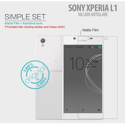 ^ Sony Xperia L1 - Nillkin Antiglare Screen Guard }