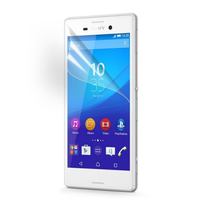 $ Sony Xperia M4 Aqua Dual / M4 Aqua - Clear Screen Guard