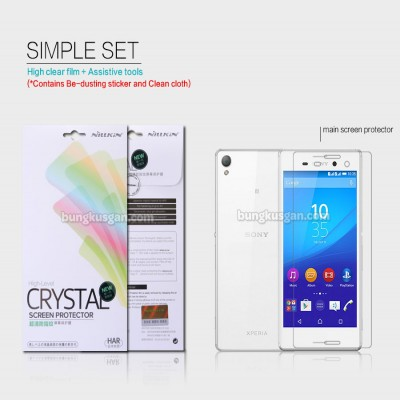 ^ Sony Xperia M4 Aqua Dual / M4 Aqua - Nillkin Clear Screen Guard