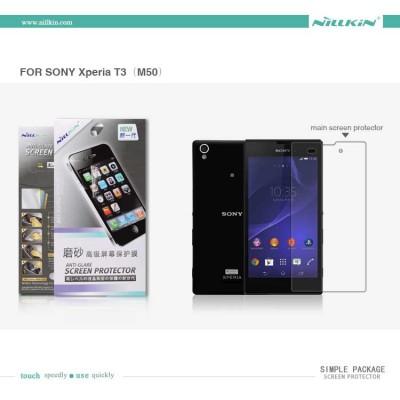 $ Sony Xperia T3 Dual / T3 D5103 - Nillkin Antiglare Screen Guard