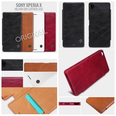 ^ Sony Xperia X - Nillkin Qin Series Leather Case