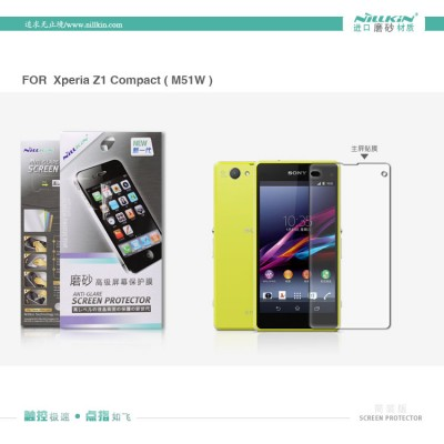 $ Sony Xperia Z1 Compact / Xperia Z1 Mini - Nillkin Antiglare Screen Guard