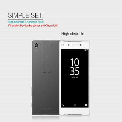 ^ Sony Xperia Z5 Dual / Z5 - Nillkin Clear Screen Guard }