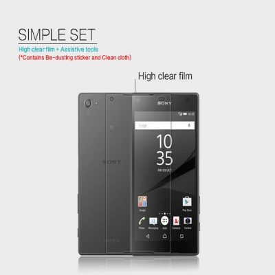 ^ Sony Xperia Z5 Compact E5803 - Nillkin Clear Screen Guard