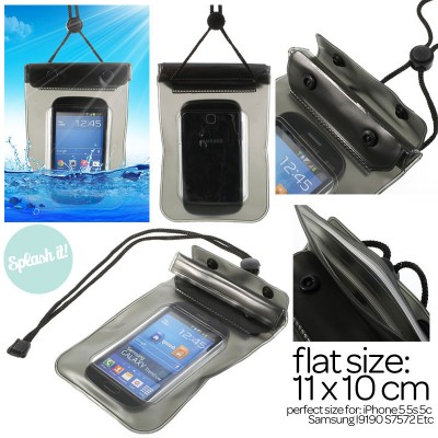 * Splash It Waterproof Bag for Smartphone 4inch (iPhone 5)