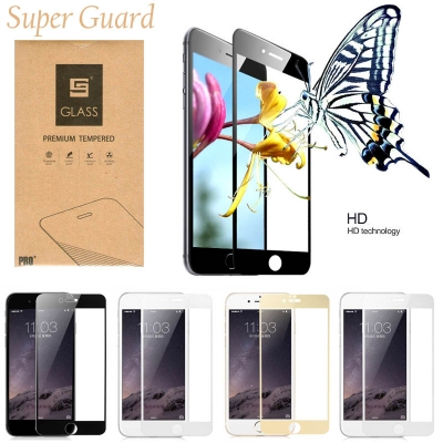 iPhone 6 / iPhone 6S - Super Guard Full Tempered Glass (Front Tempered + back film)