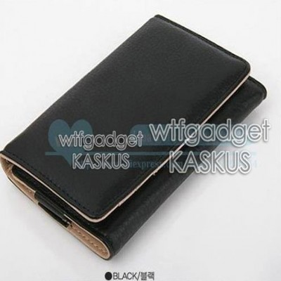 * Universal Wallet Leather Pouch 4.7inch (S3)
