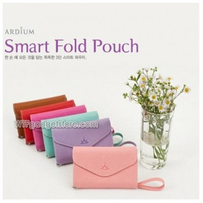 * Korean Style Wallet Leather Pouch 4.7inch (S3)