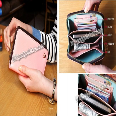 * Silky Multi Pocket WHPO Korean Wallet 5.5inch