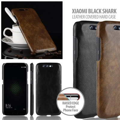 ^ Xiaomi Black Shark - Leather Covered Hard Case