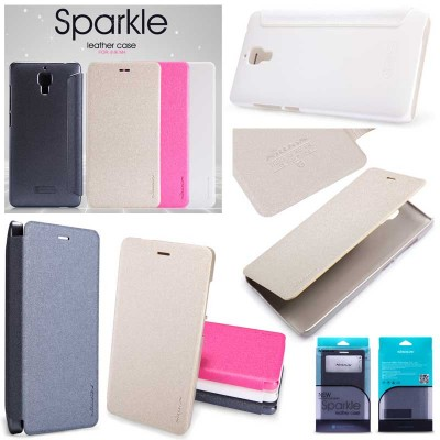 ^ Xiaomi Mi4 - Nillkin Sparkle Series Leather Case