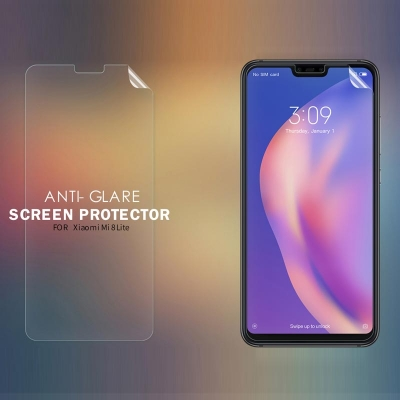 ^ Xiaomi Mi 8 Lite / Mi8 Lite - Nillkin Antiglare Screen Guard