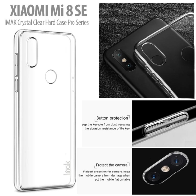 ^ Xiaomi Mi 8 SE / Mi8 SE - IMAK Crystal Clear Hard Case Pro Series