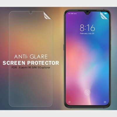 ^ Xiaomi Mi 9 / Mi9 / Mi 9 Explorer / Mi9 Explorer - Nillkin Antiglare Screen Guard