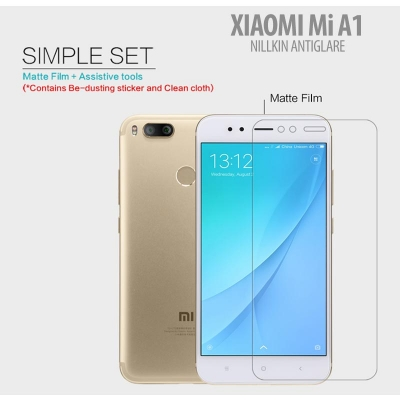^ Xiaomi Mi A1 - Nillkin Antiglare Screen Guard }