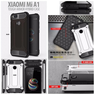 ^ Xiaomi Mi A1 - Tough Armor Hybrid Case }