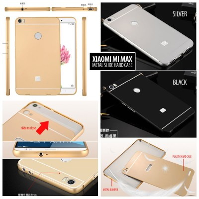 ^ Xiaomi Mi Max - Metal Slide Hard Case