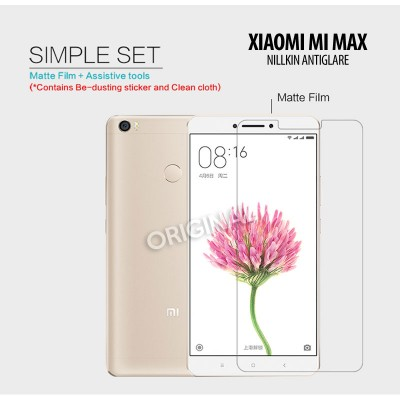 ^ Xiaomi Mi Max 2 - Mi Max - Nillkin Antiglare Screen Guard