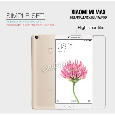 ^ Xiaomi Mi Max 2 - Mi Max - Nillkin Clear Screen Guard