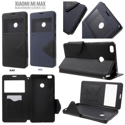 ^ Xiaomi Mi Max - Roar Window Leather Case