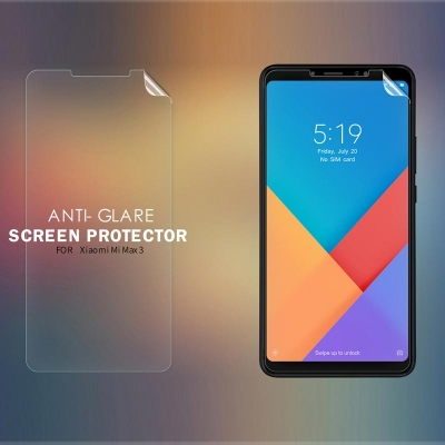 ^ Xiaomi Mi Max 3 - Nillkin Antiglare Screen Guard