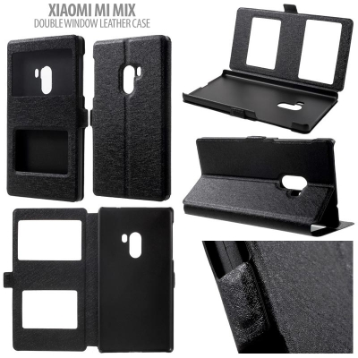 * Xiaomi Mi Mix - Double Window Leather Case