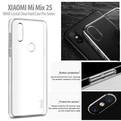 ^ Xiaomi Mi Mix 2S - IMAK Crystal Clear Hard Case Pro Series