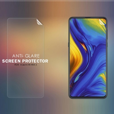 ^ Xiaomi Mi Mix 3 - Nillkin Antiglare Screen Guard
