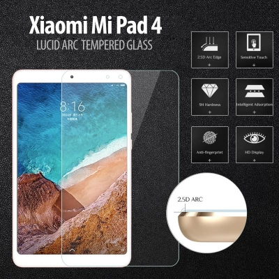 ^ Xiaomi Mi Pad 4 8.0 inch - Lucid Arc Tempered Glass