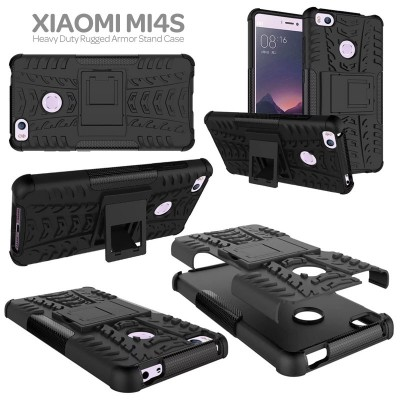 ^ Xiaomi Mi4s - Heavy Duty Rugged Armor Stand Case