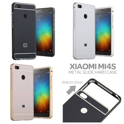 ^ Xiaomi Mi4s - Metal Slide Hard Case